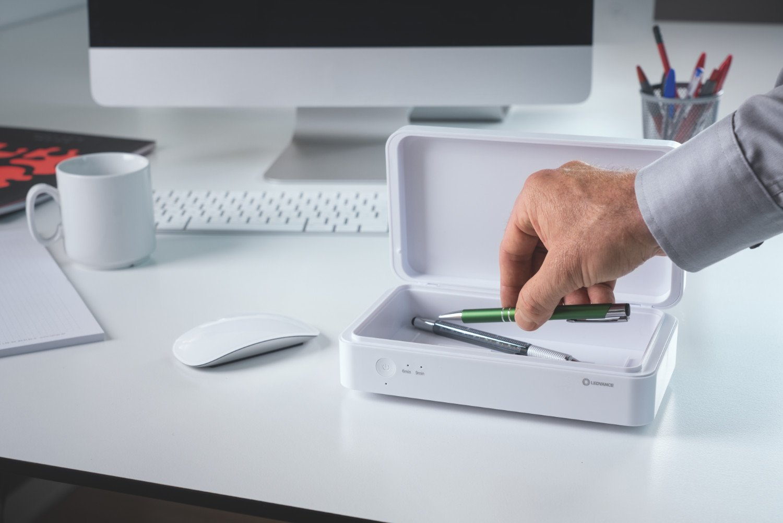 Ledvance: Caja desinfectante UV-C Led para neutralizar virus y baterías
